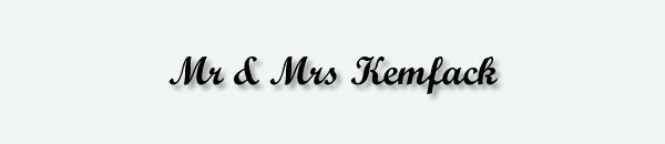 Mr & Mrs Kemfack