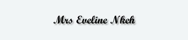 Mrs Eveline Nkeh