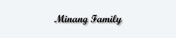 Minang Family